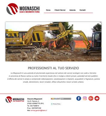 Sito Web – Mognaschi Scavi